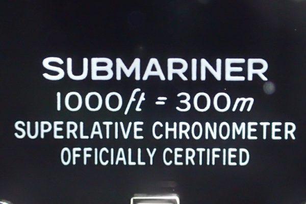 完璧なデザイン SUBMARINER
