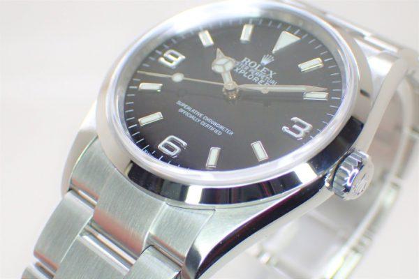 派手過ぎないコンパクトな時計 EXPLORER-Ⅰ