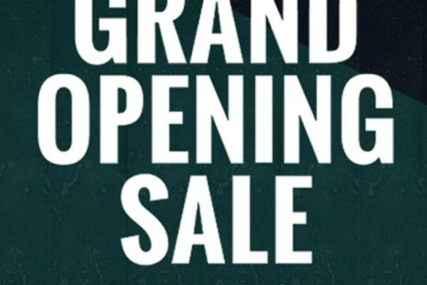 【7月15日~7月19日:上野本店限定企画】リニューアル記念!グランドオープンSALE開催!